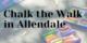 Chalk the Walk in Allendale