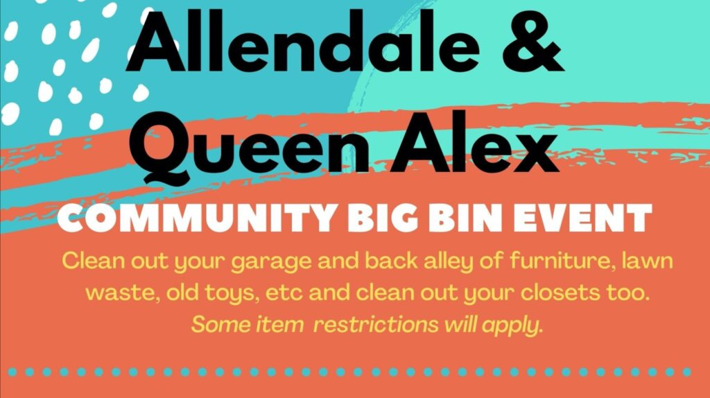 Big Bin Event - August 8