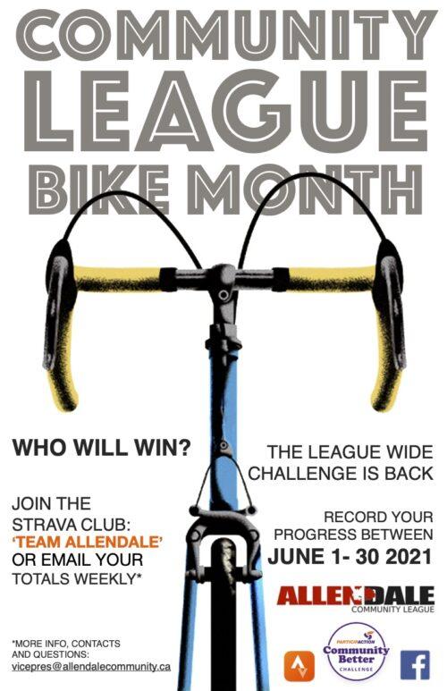 community league bike month